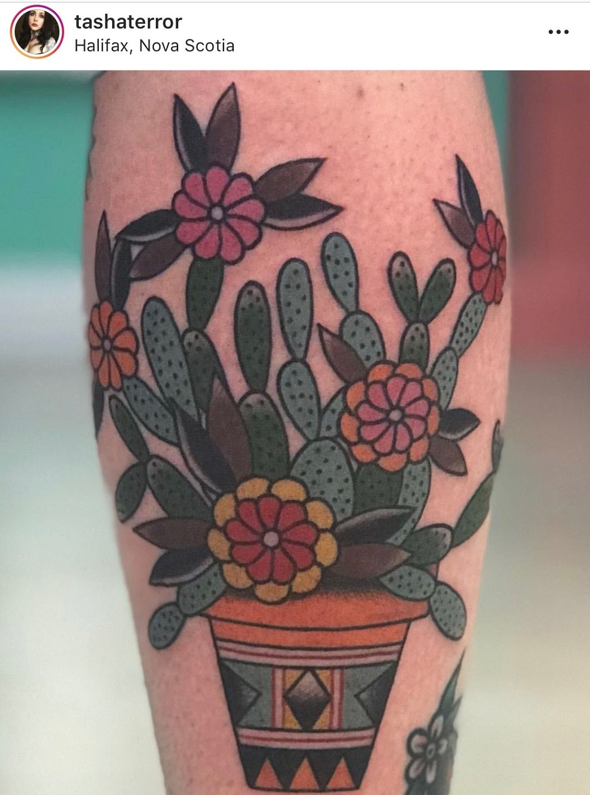Small Simple Cactus Tattoo Designs (83)
