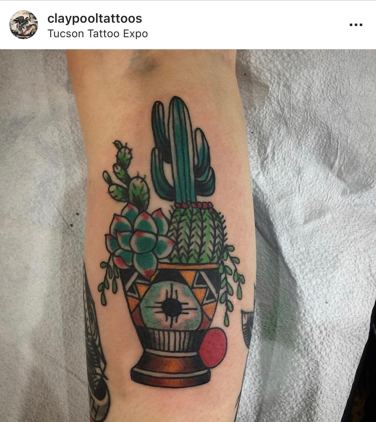 Small Simple Cactus Tattoo Designs (96)