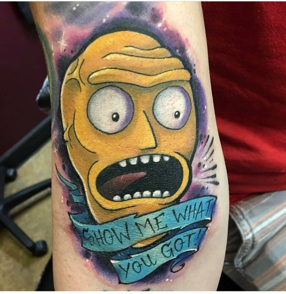 Cartoon Tattoo Designs