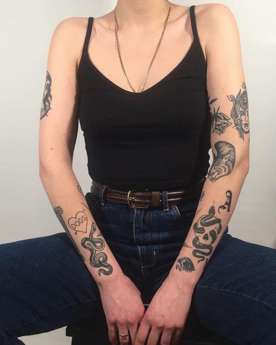 Tatuagens Femininas Delicadas No Braço (178)