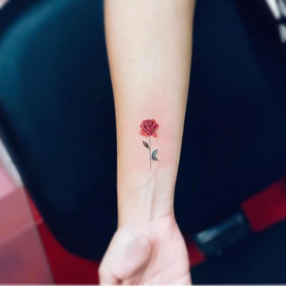 Tatuagens Femininas Delicadas No Braço (200)