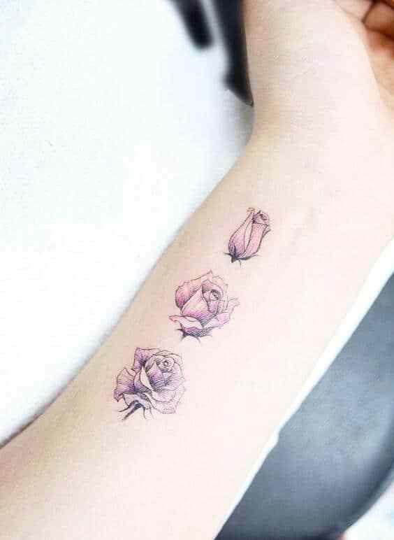 Tatuagens Femininas Delicadas No Braço (85)
