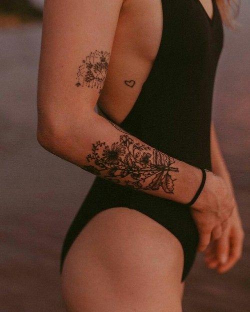 Tatuagens Femininas Delicadas No Braço (89)