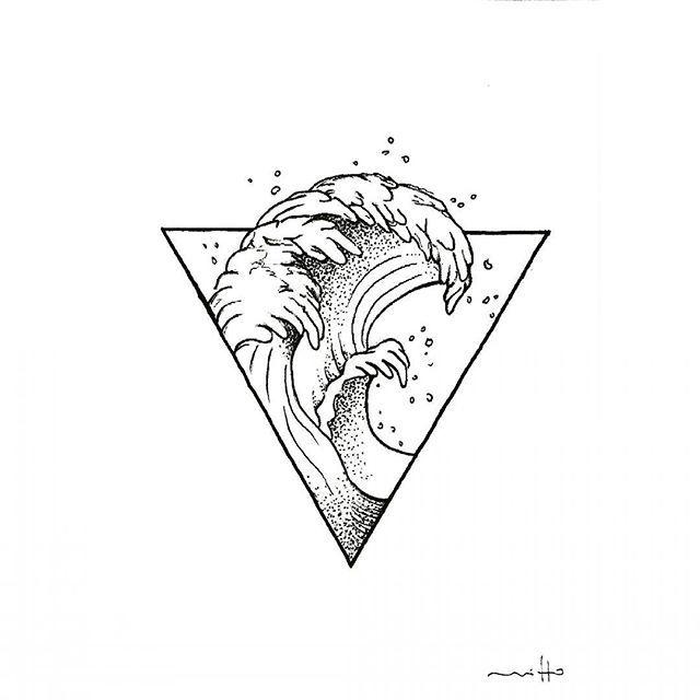 Aquarius Sign Tattoo Constellation Symbol (108)