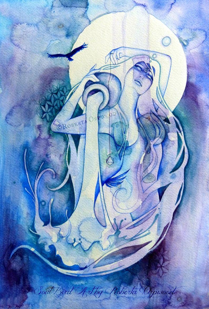 Aquarius Sign Tattoo Constellation Symbol (172)