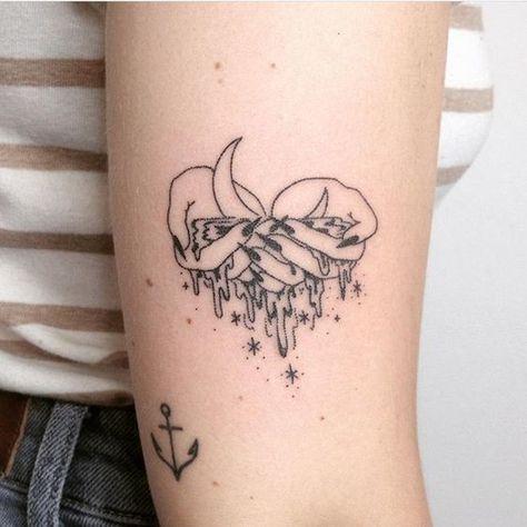 Aquarius Sign Tattoo Constellation Symbol (184)