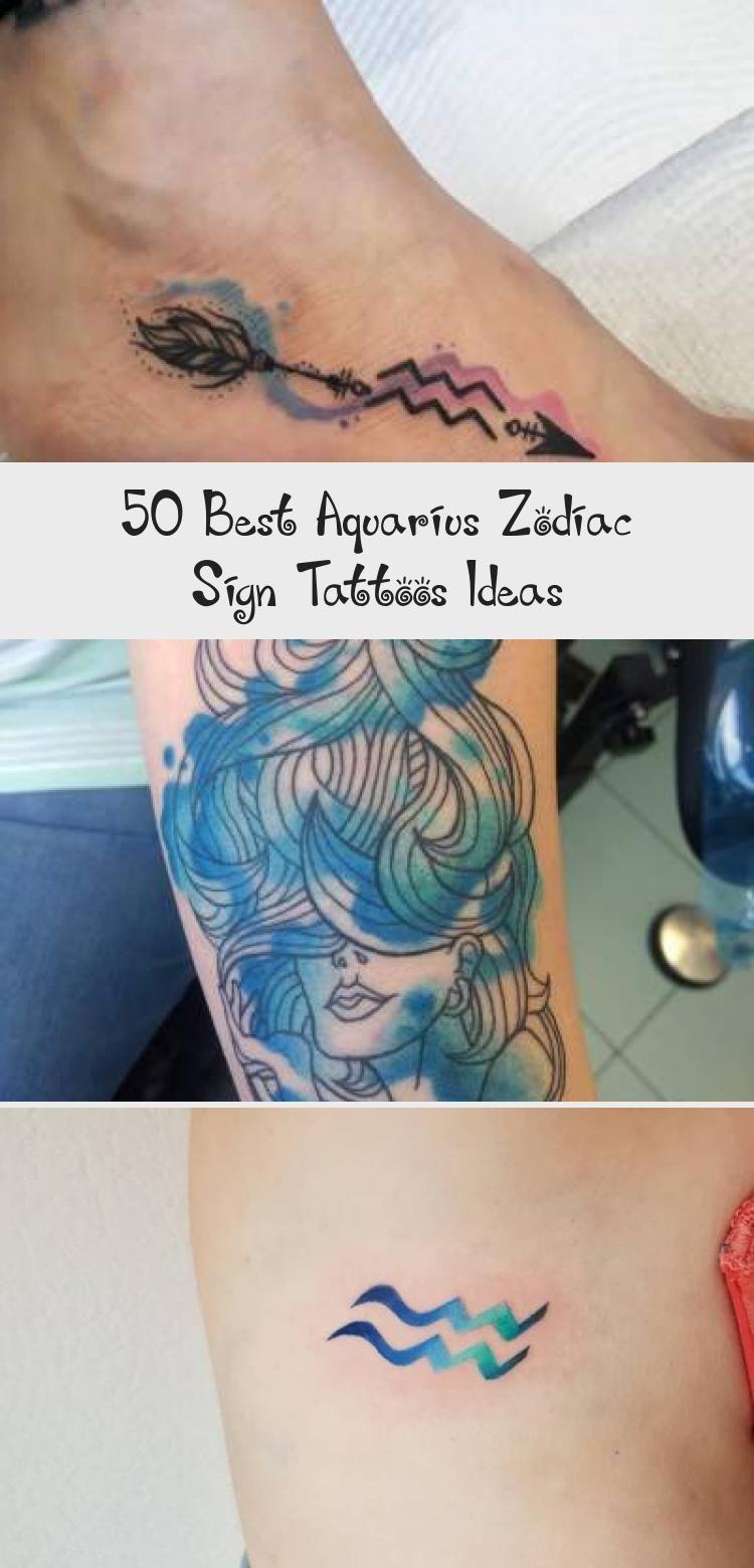 Aquarius Sign Tattoo Constellation Symbol (190)