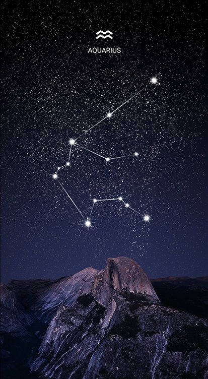 Aquarius Sign Tattoo Constellation Symbol (194)