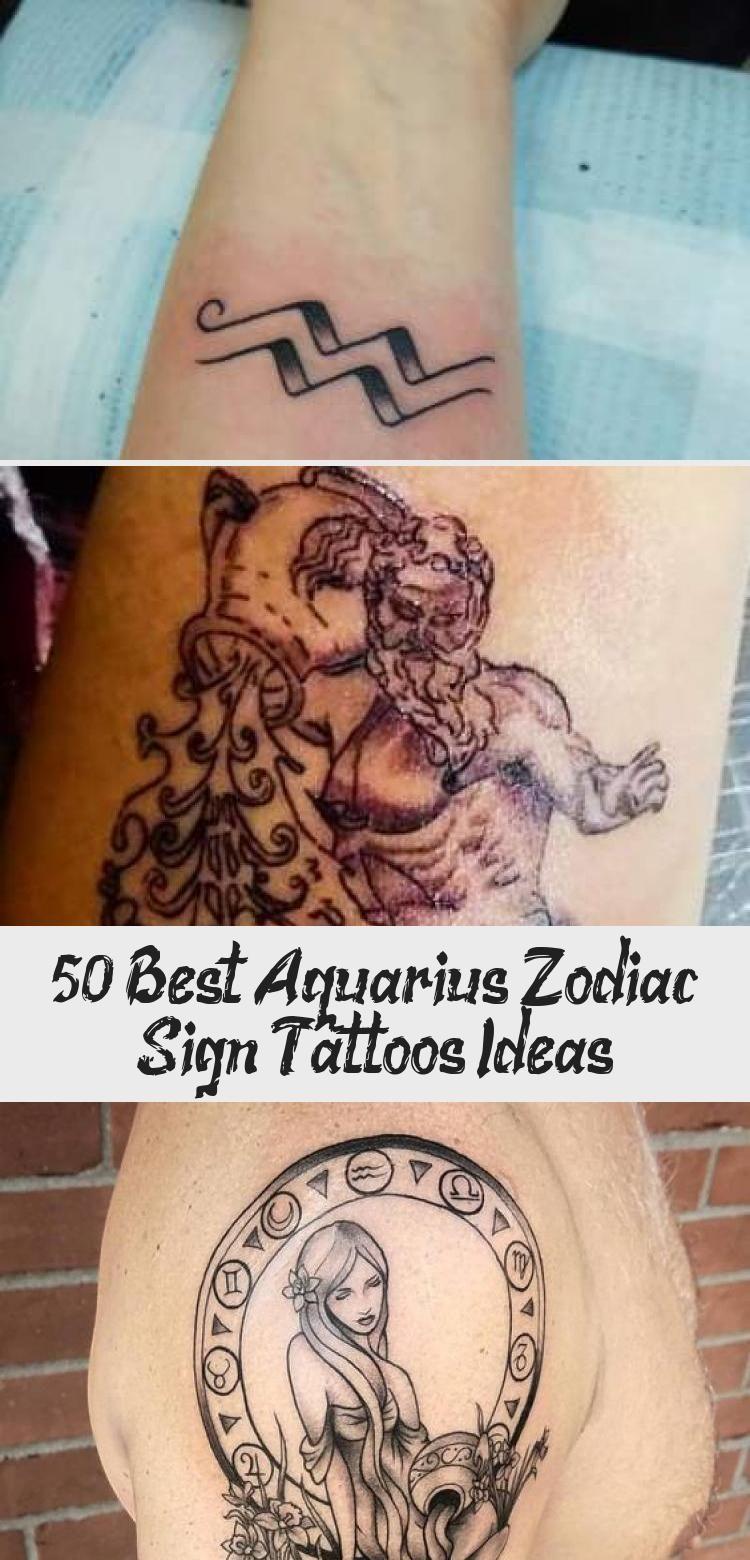 Aquarius Sign Tattoo Constellation Symbol (199)