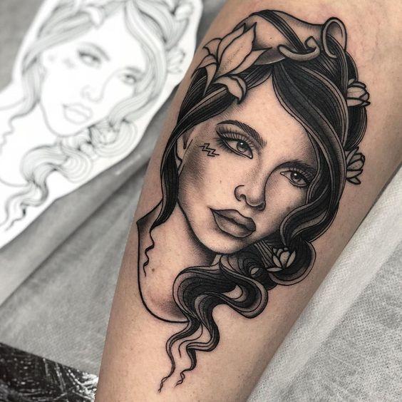 Aquarius Sign Tattoo Constellation Symbol (201)