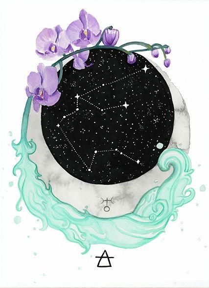 Aquarius Sign Tattoo Constellation Symbol (217)