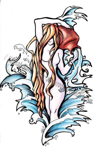 Aquarius Sign Tattoo Constellation Symbol (40)