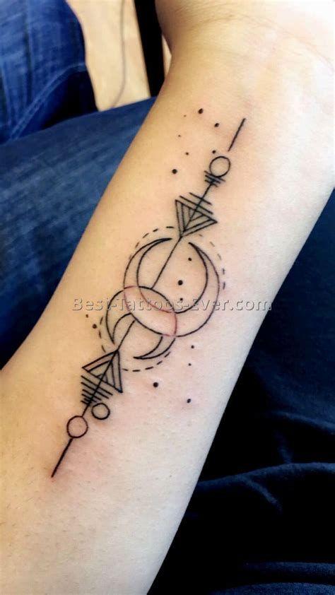 Aquarius Sign Tattoo Constellation Symbol (74)
