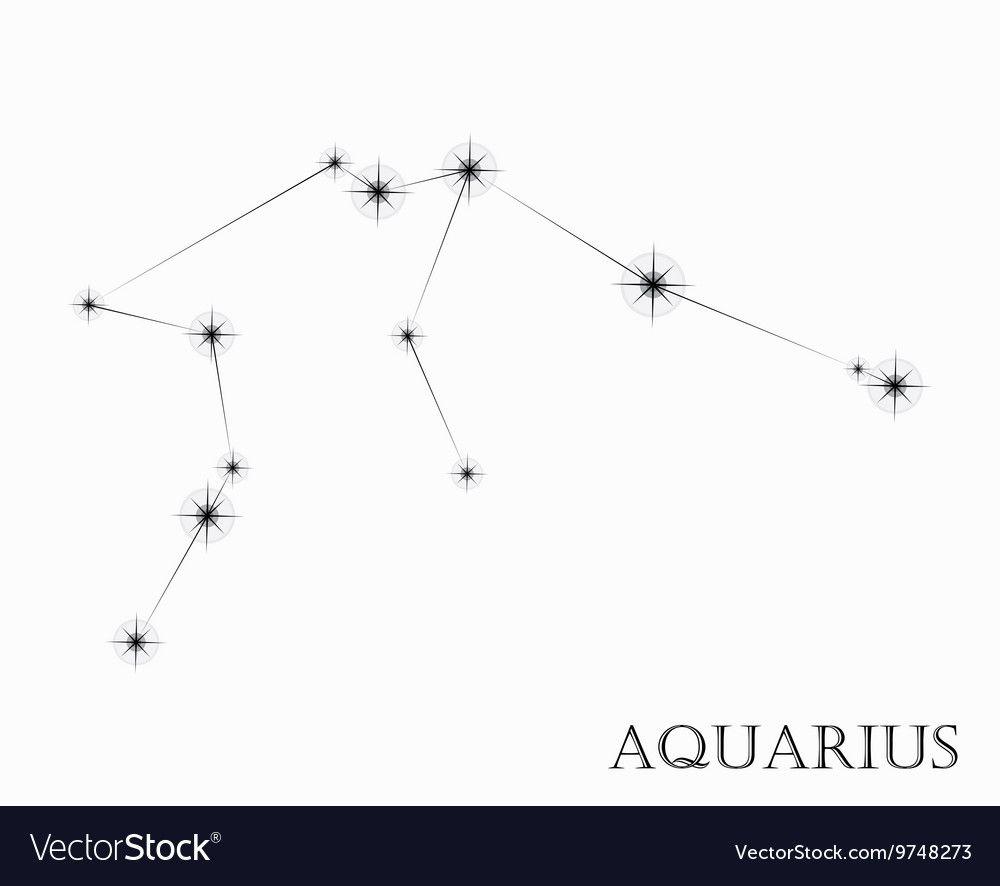 Aquarius Sign Tattoo Constellation Symbol (82)