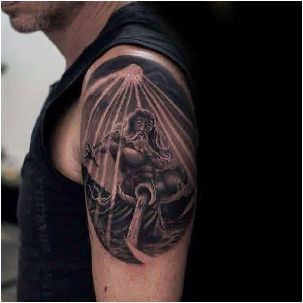 Aquarius Sign Tattoo Constellation Symbol (84)
