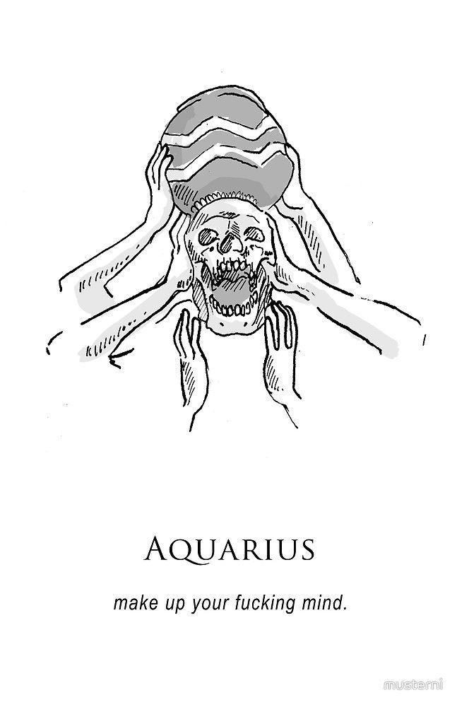 Aquarius Sign Tattoo Constellation Symbol (85)