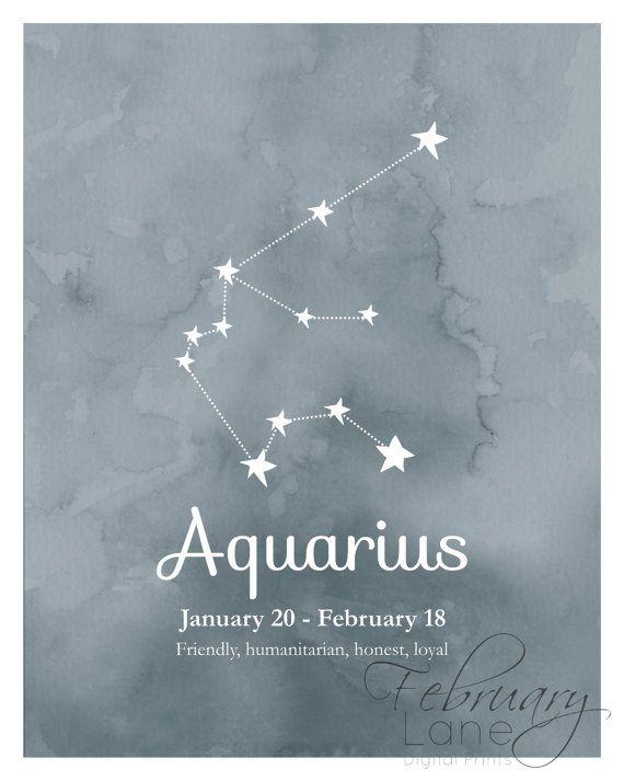 Aquarius Sign Tattoo Constellation Symbol (98)