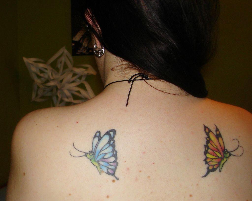 Back Shoulder Tattoo Designs Ideas (105)