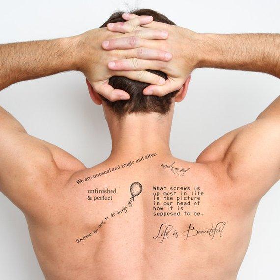 Back Shoulder Tattoo Designs Ideas (114)