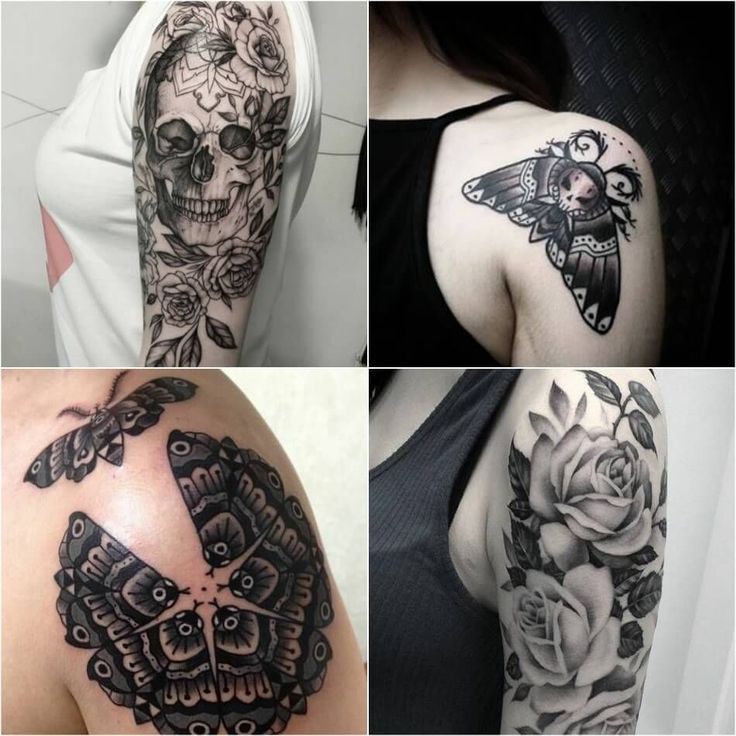 Back Shoulder Tattoo Designs Ideas (12)