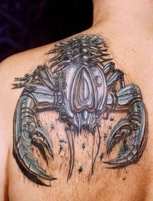 Back Shoulder Tattoo Designs Ideas (124)