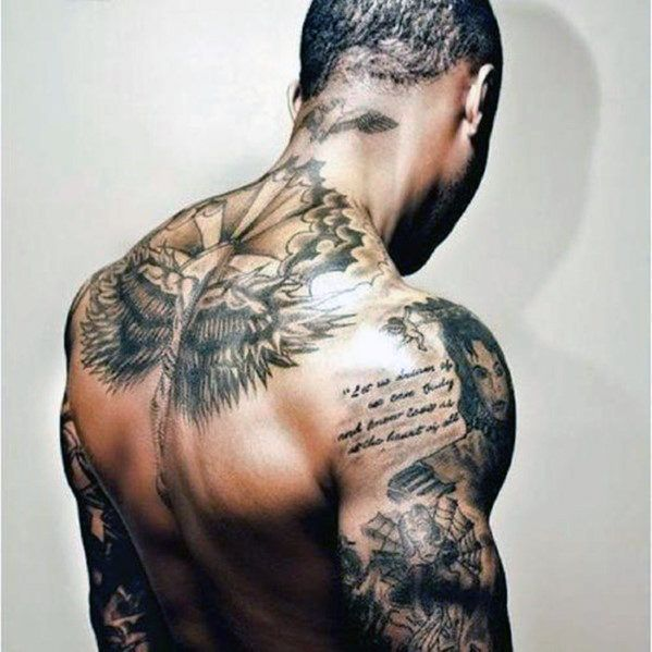 Back Shoulder Tattoo Designs Ideas (131)