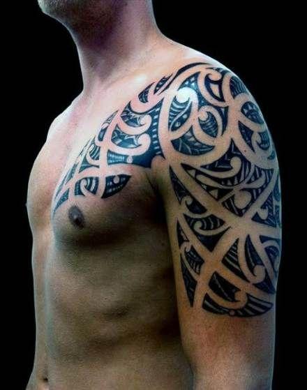 Back Shoulder Tattoo Designs Ideas (138)