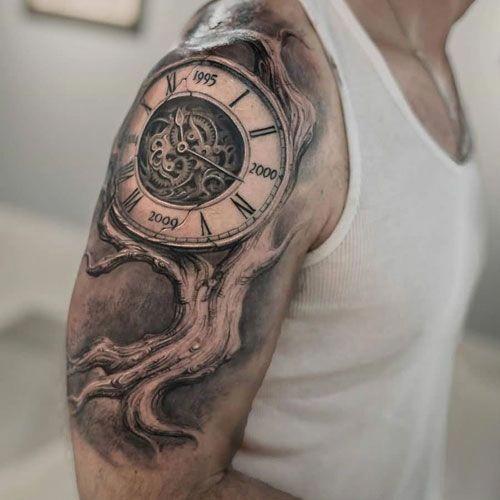 Back Shoulder Tattoo Designs Ideas (140)