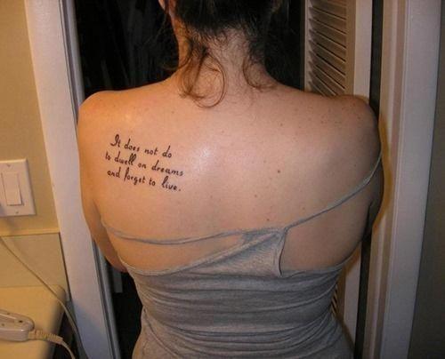 Back Shoulder Tattoo Designs Ideas (141)