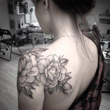 Back Shoulder Tattoo Designs Ideas (147)