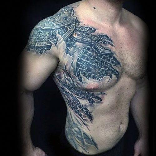 Back Shoulder Tattoo Designs Ideas (15)