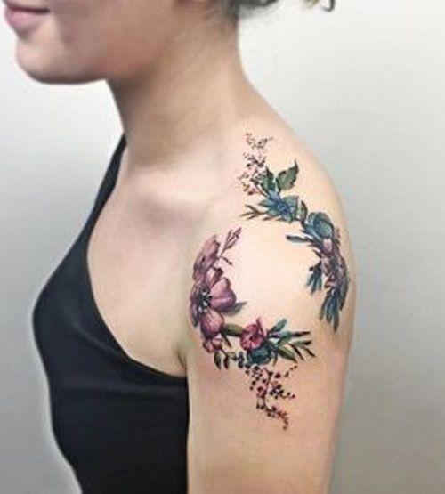 Back Shoulder Tattoo Designs Ideas (158)