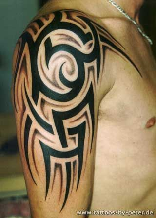 Back Shoulder Tattoo Designs Ideas (159)