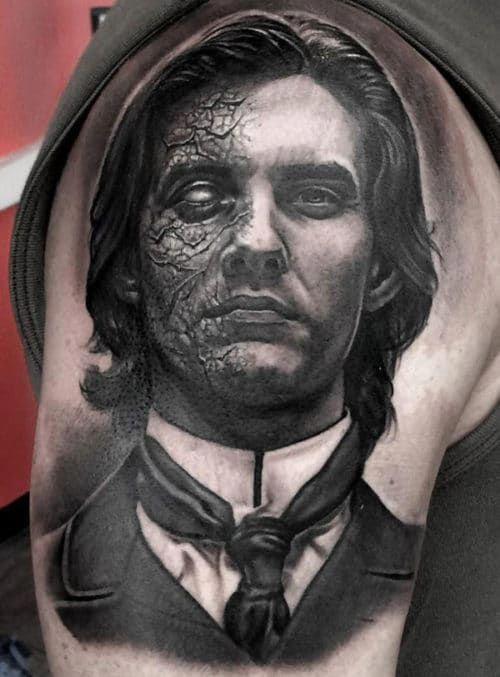 Back Shoulder Tattoo Designs Ideas (16)