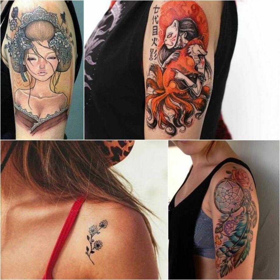 Back Shoulder Tattoo Designs Ideas (168)