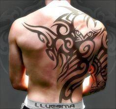 Back Shoulder Tattoo Designs Ideas (173)