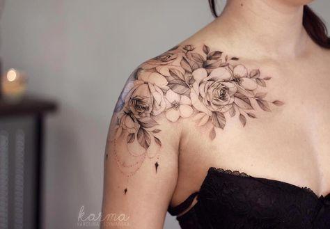 Back Shoulder Tattoo Designs Ideas (174)