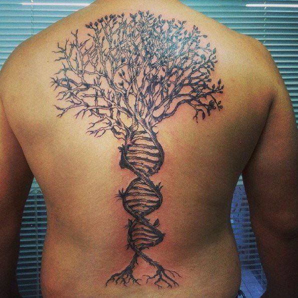 Back Shoulder Tattoo Designs Ideas (176)