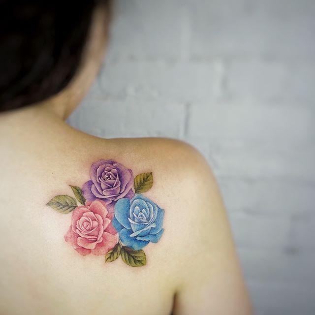 Back Shoulder Tattoo Designs Ideas (180)