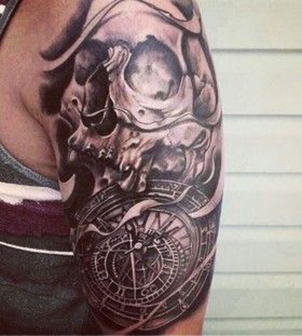 Back Shoulder Tattoo Designs Ideas (183)