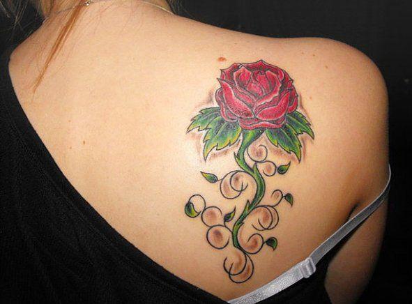 Back Shoulder Tattoo Designs Ideas (191)