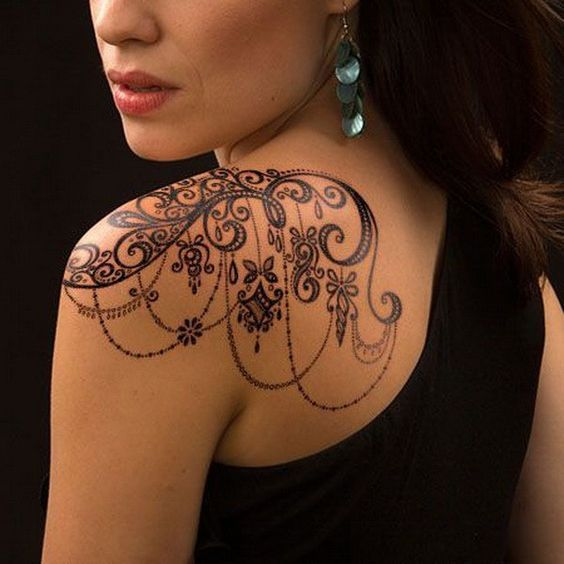 Back Shoulder Tattoo Designs Ideas (194)