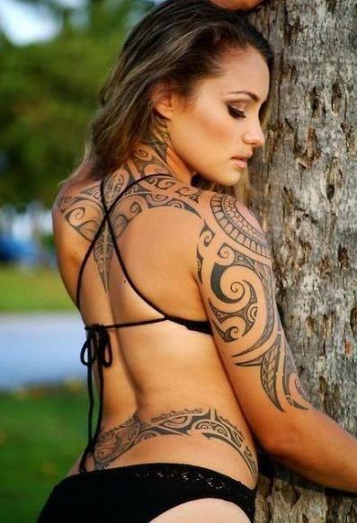 Back Shoulder Tattoo Designs Ideas (203)