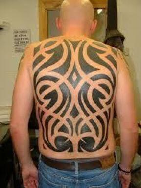 Back Shoulder Tattoo Designs Ideas (204)