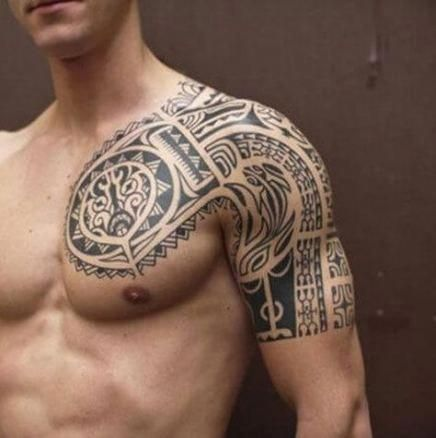 Back Shoulder Tattoo Designs Ideas (221)
