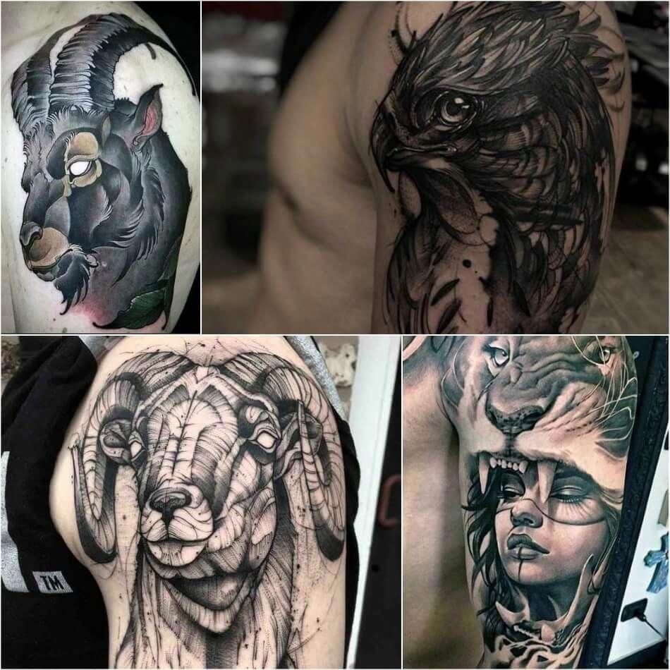 Back Shoulder Tattoo Designs Ideas (228)