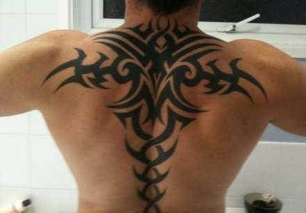 Back Shoulder Tattoo Designs Ideas (28)