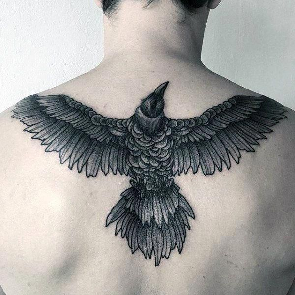 Back Shoulder Tattoo Designs Ideas (31)