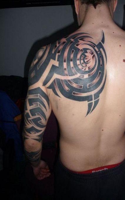 Back Shoulder Tattoo Designs Ideas (36)
