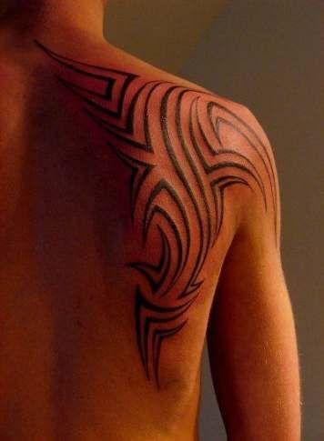 Back Shoulder Tattoo Designs Ideas (44)